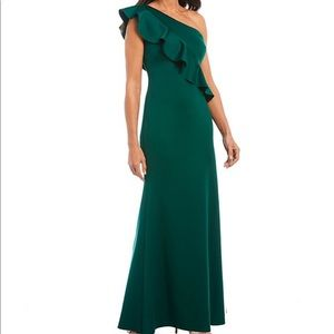 Jessica Howard Green evening gown New ! 16